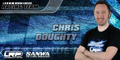 Chris Doughty bleibt LRP Racing-Team treu!