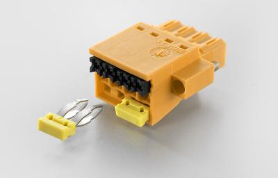 Weidmüller OMNIMATE® Signal BLF 3.5: BLF 3.5 PCB plug-in connector with PUSH IN connection system