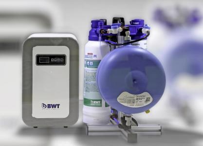 Kompakt, leistungsstark und wartungsarm: BWT bestaqua COFFEE / Foto: BWT water+more