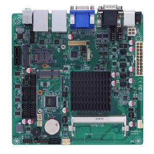Quad-Core Industrial Mini-ITX Motherboard with Excellent Graphics Performance - Axiomtek MANO842