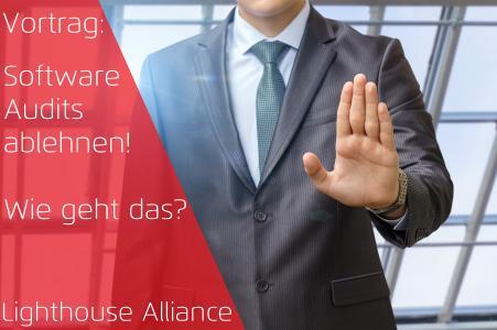 Software Audits ablehnen - Wie geht das? - Lighthouse Alliance - ProLicense