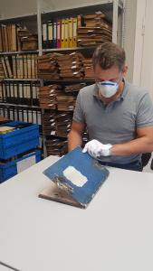 Archivierung_ Schimmelbefall
