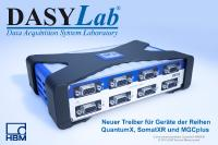 Integration der HBM-Datenerfassungssysteme in DASYLab