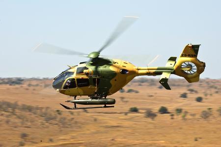 EC635 in flight (Ref. DIGIT-03672, © Copyright Eurocopter, Frans Dely)