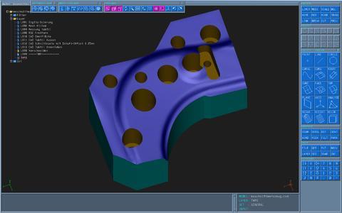 Von einer Schnittbacke die CAD-Geometrie ableiten