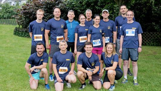 Team GEZE Citylauf / Foto: GEZE GmbH