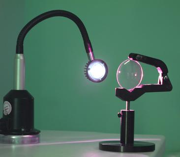 Quality Assurance for Eyeglass Lenses: New Inspection Lamps for Optical Lens Control