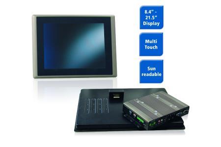 Spectra PowerTwin M Serie Industrielle Monitore