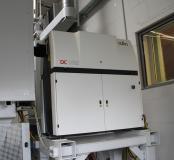 Der 2,5 kW CO2-Slab-Laser liefert eine gute Strahlqualität