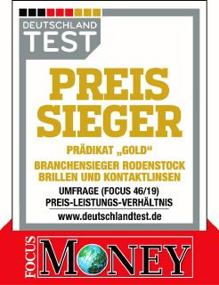 """Rodenstock ist """"Preis-Sieger"""" in Gold in der Kategorie """"Brille und Kontaktlinsen"""""""