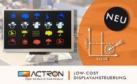 Ein neuer Kleinwagen gefällig? Mit der ACTRON Low-Cost-Displayansteuerung einfach wie nie!