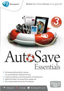 Produktbild: AutoSave_Essentials_Front_2D_300dpi_rgb