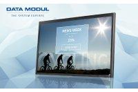 DATA MODUL präsentiert 55-Zoll-UHD2-Display für den Digital Signage-Bereich