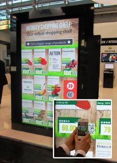 EuroShop 2017: Das digitale Regal für den smarten Shopper