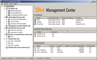 Set Up Your Print Servers with Just a Mouse Click