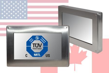 Panel-PC nach UL-Norm zertifiziert