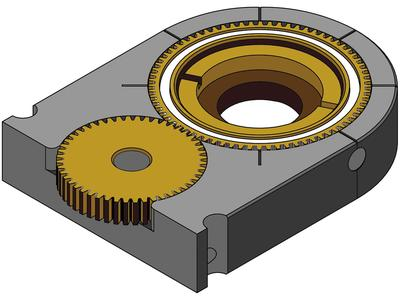 Rotational Mounts for Laser Material Processing