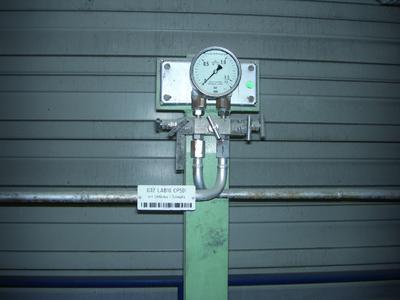 An Kontrollpunkten wird mit Hilfe des Memors überprüft, ob die Bauteile der Anlage noch intakt sind, oder eine Wartung durchgeführt werden muss