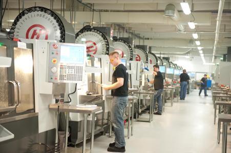 CNC Maschinen / Quelle  Proto Labs