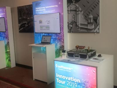 Presenting the STW Loadmanagement at the Innovation Tour 2019