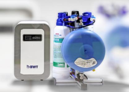 Volle Magnesium-Power voraus: BWT bestaqua COFFEE optimiert Wasser selbst in großen Mengen gleichbleibend gut / Foto: BWT water+more