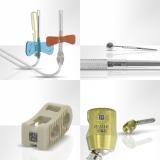 Anwendungsbeispiele für die Lasermarkierung auf medizinischen Instrumenten.