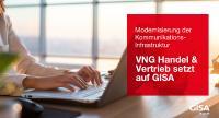 Die VNG Handel & Vertrieb GmbH setzt bei der umfassenden Modernisierung ihrer Unified-Communications-Umgebung auf den IT-Dienstleister GISA GmbH.