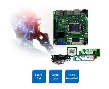 Spectra Mini ITX Q470 Board Set