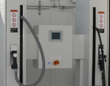 TÜV SÜD begleitete Planung und Inbetriebnahme der Tankstelle.