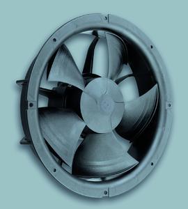 Der neue, ATEX-zugelassene Ventilator für den Einsatz mit brennbaren Kältemitteln. (Foto: ebm-papst Mulfingen)