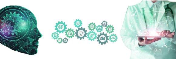 Header MARIS Health Analyzer, Verbindung zwischen Arzt und künstlicher Intelligenz
