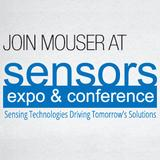Mouser to demo the newest sensor technologies at the Sensors Expo and Conference 2014