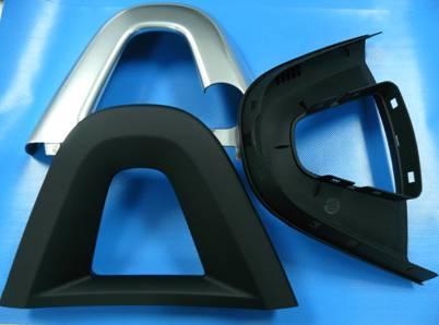 SLK Überrollbügel aus ROMILOY® 5730/01 (PC+PBT)