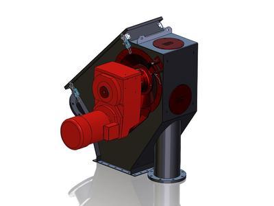 Schrage Rohrkettensystem konstruiert bspw. Antriebsstationen mit SolidWorks 3D-CAD und verwaltet diese Daten mit Solidworks Enterprise PDM