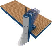 Als multiroller verfügen die Lösungen nicht nur über Stöße dämpfende Eigenschaften, sie passen sich auch dank Drehbarkeit optimal der Umgebung und anlegenden Booten an, Bild: multiplex GmbH