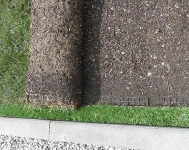 Green thumb up: 3D BIM CAD models of Grasscalm artificial turf edging available on BIMcatalogs.net