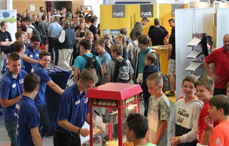 Auch im letzten Jahr war die Bildungsmesse in Lauda-Königshofen ein Besuchermagnet / Foto: IHK