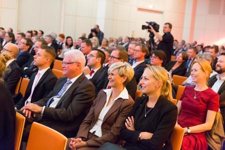 Der Deutsche Verpackungspreis wurde am Vorabend der Fachpack vor 270 geladenen Gästen in Nürnberg vergeben. (Bild: dvi)