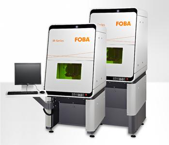 Höhenverstellbare Lasermarkiermaschine FOBA M2000-B/P (mit Arbeitstisch oder Achsen)