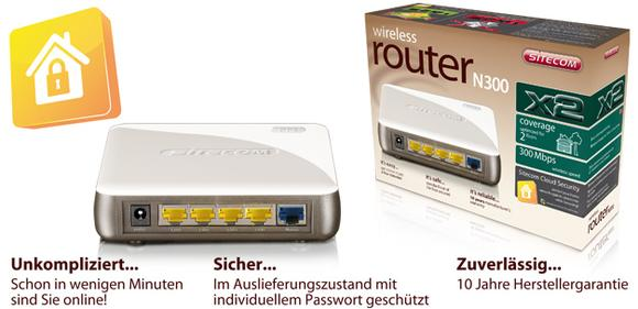 WLR-2100 Wireless Router N300 X2