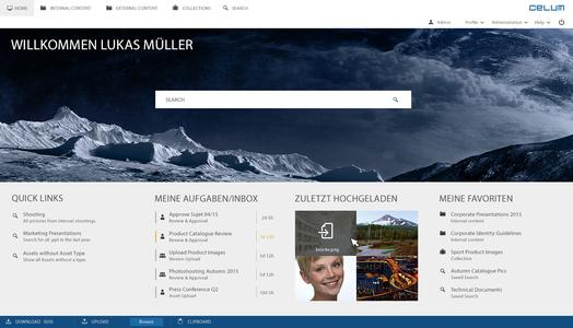 Starlight Startpage UI de
