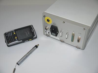 Prüfmittelkennzeichnung mittels RFID-Technik und IKÖN (Quelle: Fraunhofer IZFP)