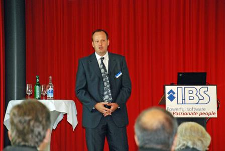 Lukas Hostettler, Managing Director IBS German Speaking Europe