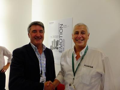 Fujifilm and RaceTech UK signed five year contract for upgrading to Fujinon HD optical lens technology