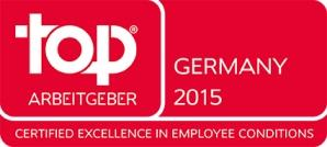 arvato Systems: Top Employer 2015