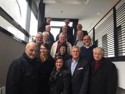 SES-Ausbildungsbegleiter trafen sich zum 5. Erfahrungsaus-tausch in der IHK Heilbronn-Franken. Foto: IHK