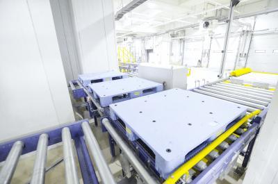 ORCA Cold Chain Solutions in Taguig/Manila ist das erste vollautomatische Tiefkühllager auf den Philippinen. Die Anlage ORCA Taguig erhöht die Logistikkapazitäten der Philippinen und die Vorbereitung auf unvorhersehbare Ereignisse erheblich. Der Leistungsumfang von SSI Schäfer beinhaltet ein vollautomatisches Hochregallager, eine Förderanlage, Pick to Tote Kommissionierarbeitsplätze und die Logistiksoftware WAMAS®