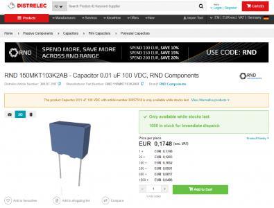 Distrelec bettet 3D-CAD-Modelle mittels TraceParts-Technologie in Webpräsenz ein