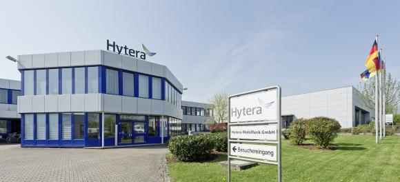 Firmengebäude der Hytera Mobilfunk GmbH