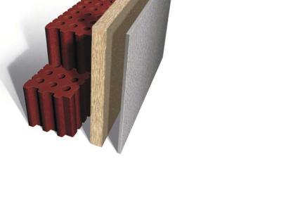 innovativ: INTHERMO WDVS für den Mauerwerksbau - neu entwickelt zur Direktmontage auf die Außenwand!